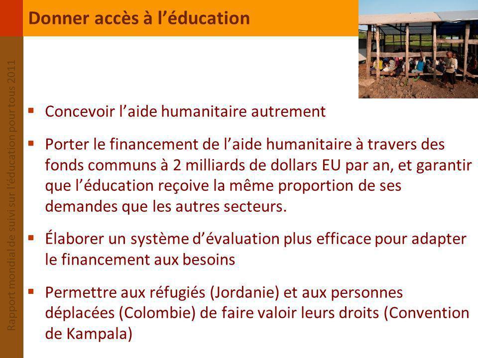Donner accès à l'éducation