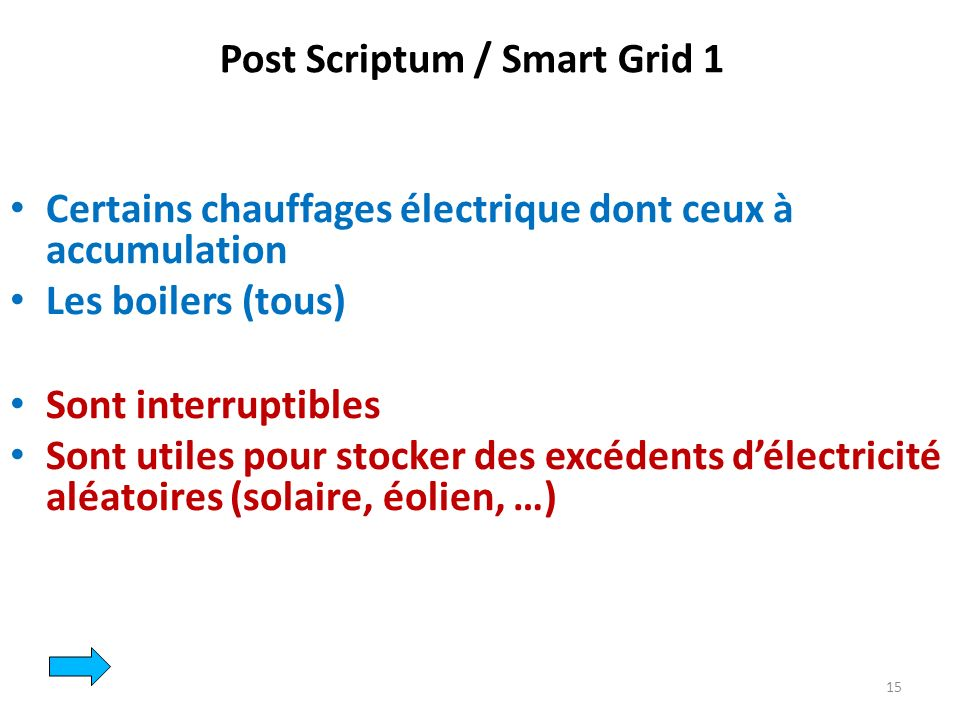 Post Scriptum / Smart Grid 1