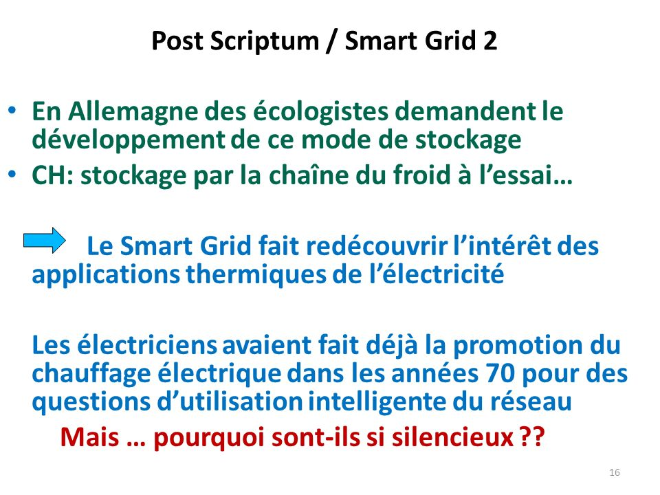 Post Scriptum / Smart Grid 2