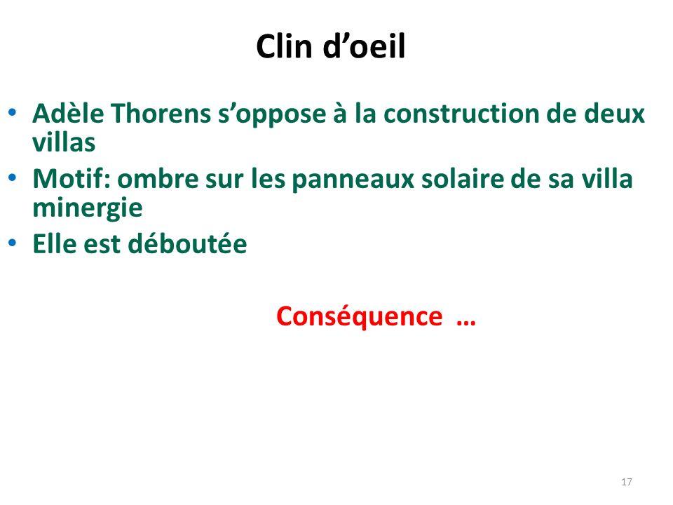 Clin d'oeil Adèle Thorens s'oppose à la construction de deux villas