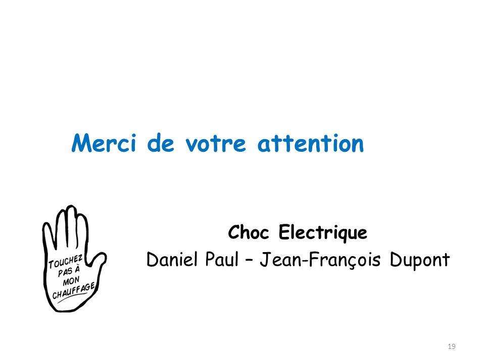 Daniel Paul – Jean-François Dupont