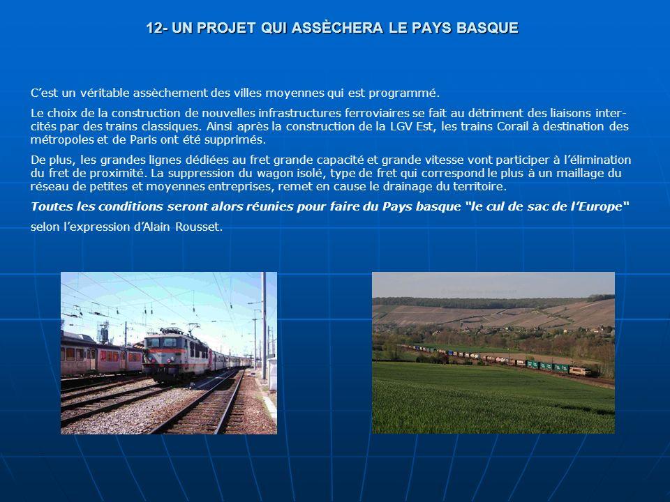 12- UN PROJET QUI ASSÈCHERA LE PAYS BASQUE