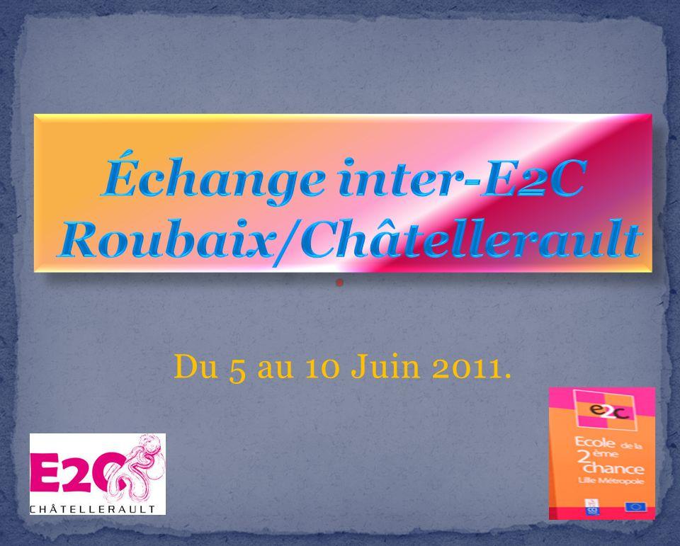 Échange inter-E2C Roubaix/Châtellerault