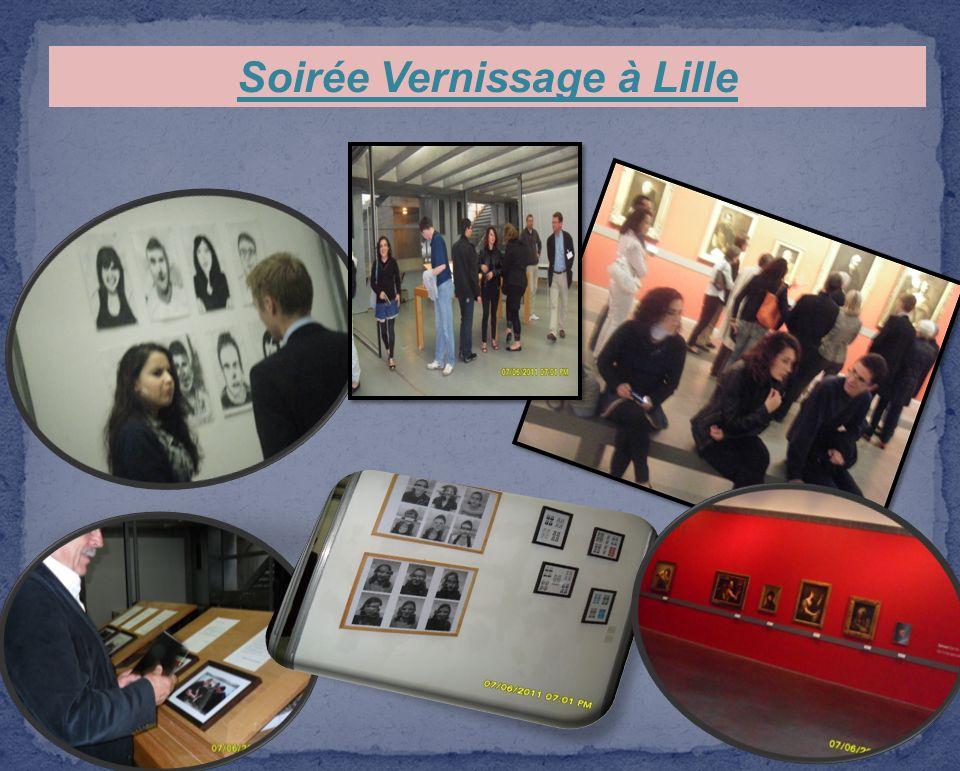 Soirée Vernissage à Lille