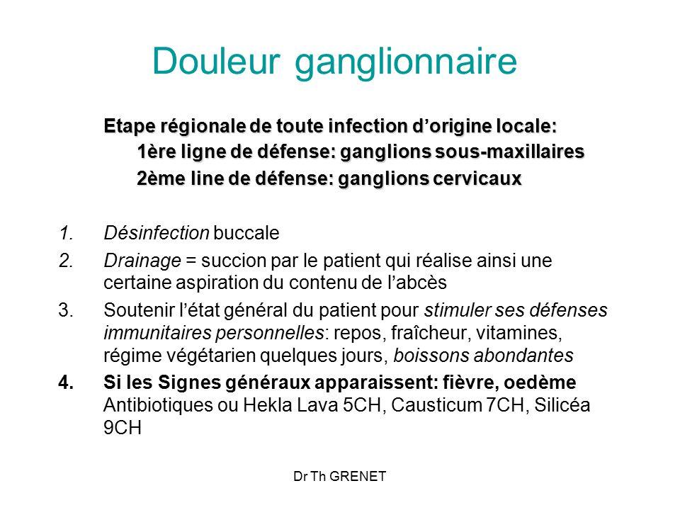 Douleur ganglionnaire