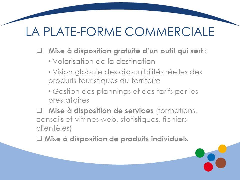 LA PLATE-FORME COMMERCIALE