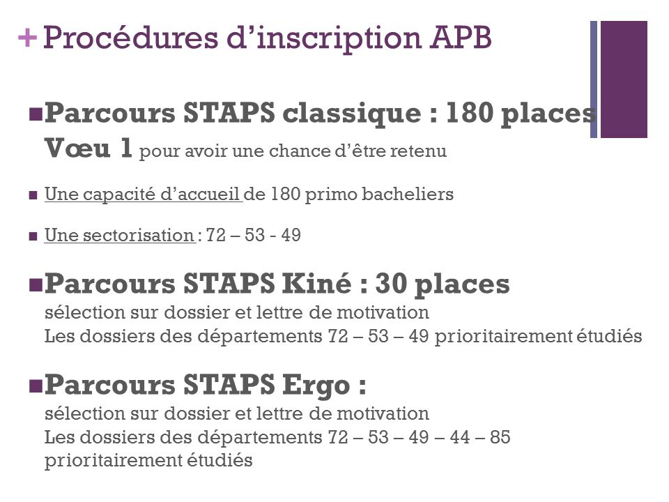 exemple lettre de motivation staps kiné Lettre de motivation pour staps | Aubergecronquelet exemple lettre de motivation staps kiné
