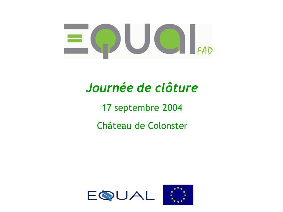 Journée de clôture 17 septembre 2004 Château de Colonster