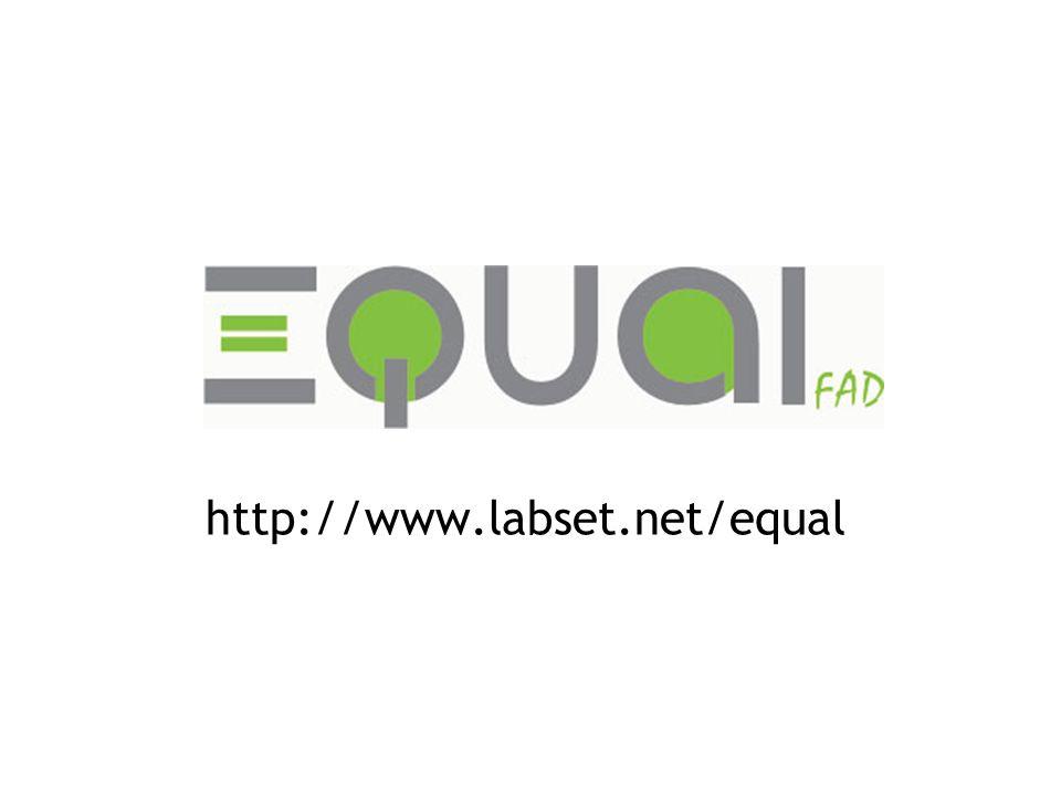 http://www.labset.net/equal Collaboration à l'étude méthodologique enrichissement de l'étude, élargissement du contexte des expériences.