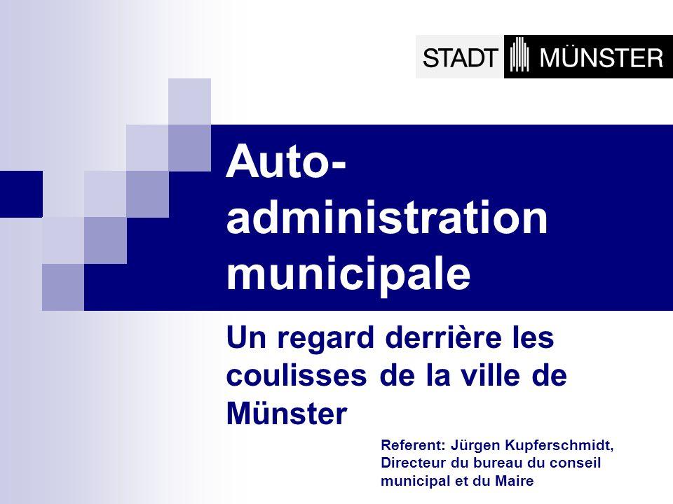 Auto-administration municipale