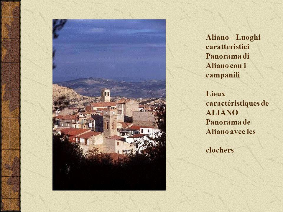 Aliano – Luoghi caratteristici Panorama di Aliano con i campanili Lieux caractéristiques de ALIANO Panorama de Aliano avec les clochers