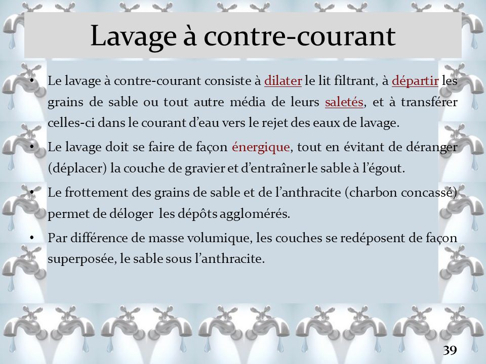 Introduction au traitement des eaux de consommation ppt video online t l charger - Masse volumique gravier ...
