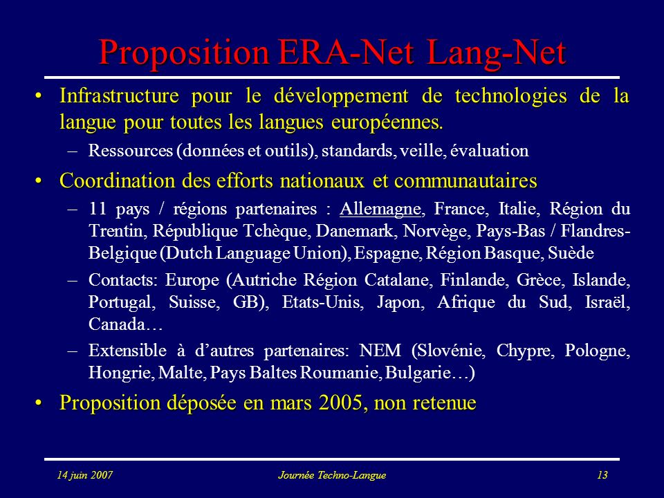 Proposition ERA-Net Lang-Net
