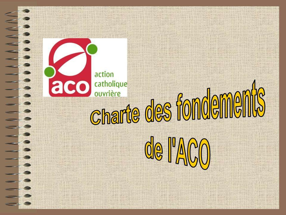 Charte des fondements de l ACO