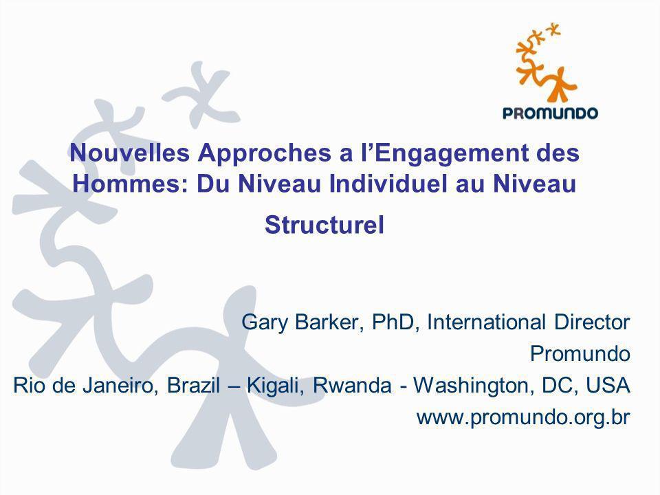 Nouvelles Approches a l'Engagement des Hommes: Du Niveau Individuel au Niveau Structurel