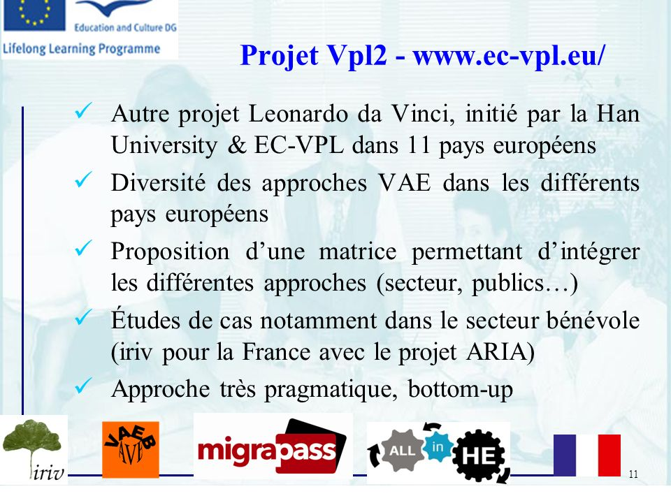 Projet Vpl2 - www.ec-vpl.eu/