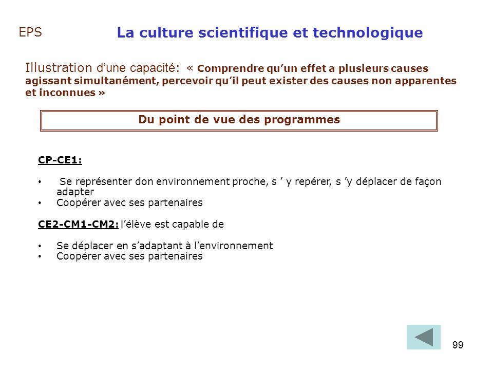 La culture scientifique et technologique
