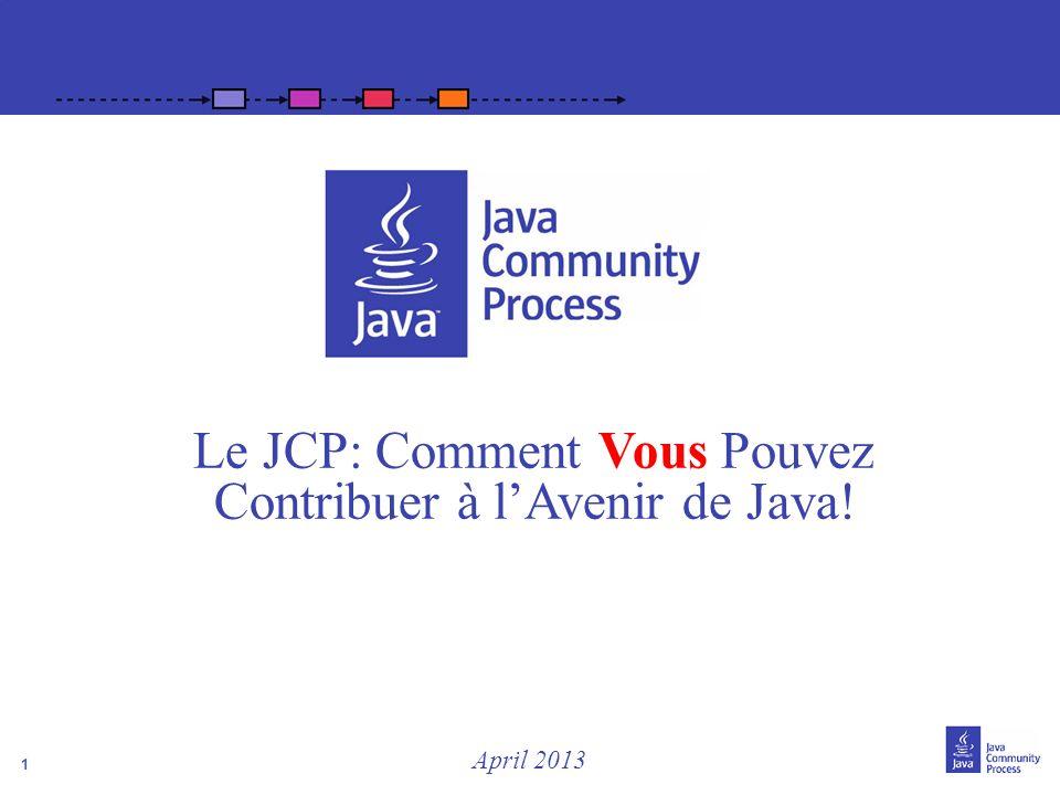 Le JCP: Comment Vous Pouvez Contribuer à l'Avenir de Java!