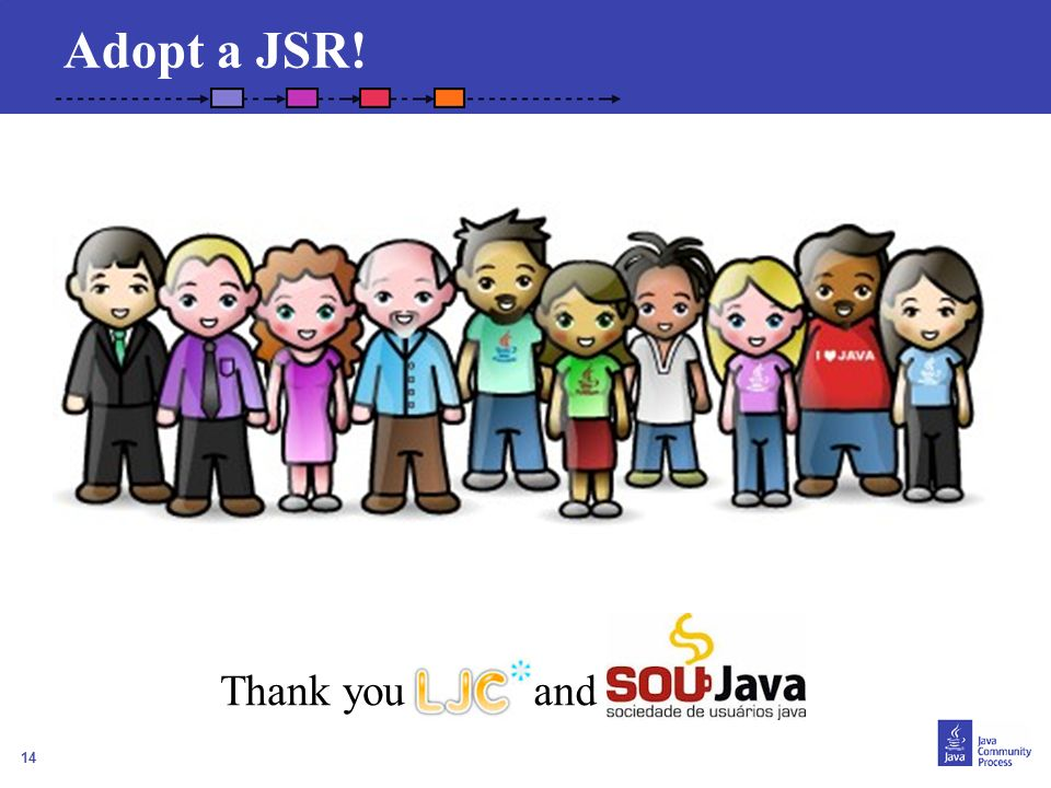 Adopt a JSR! Thank you and