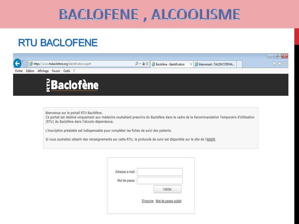 OFFRES spéciales | Dosage De Baclofène Alcoolisme