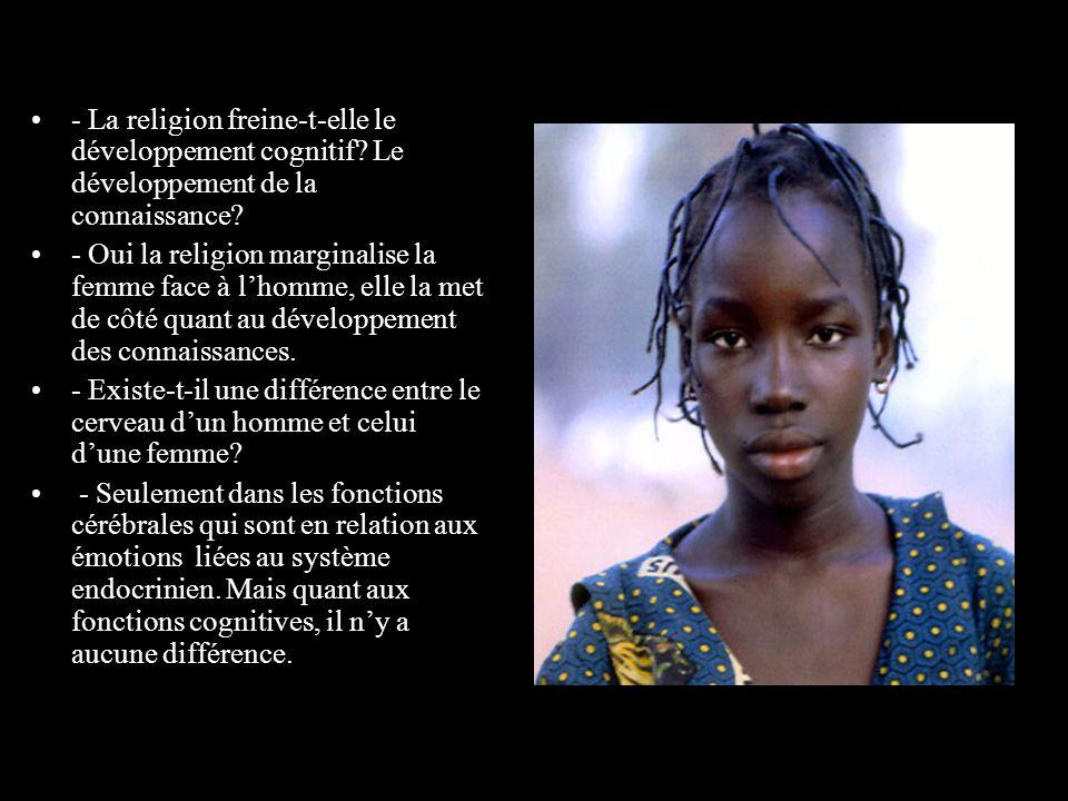 - La religion freine-t-elle le développement cognitif