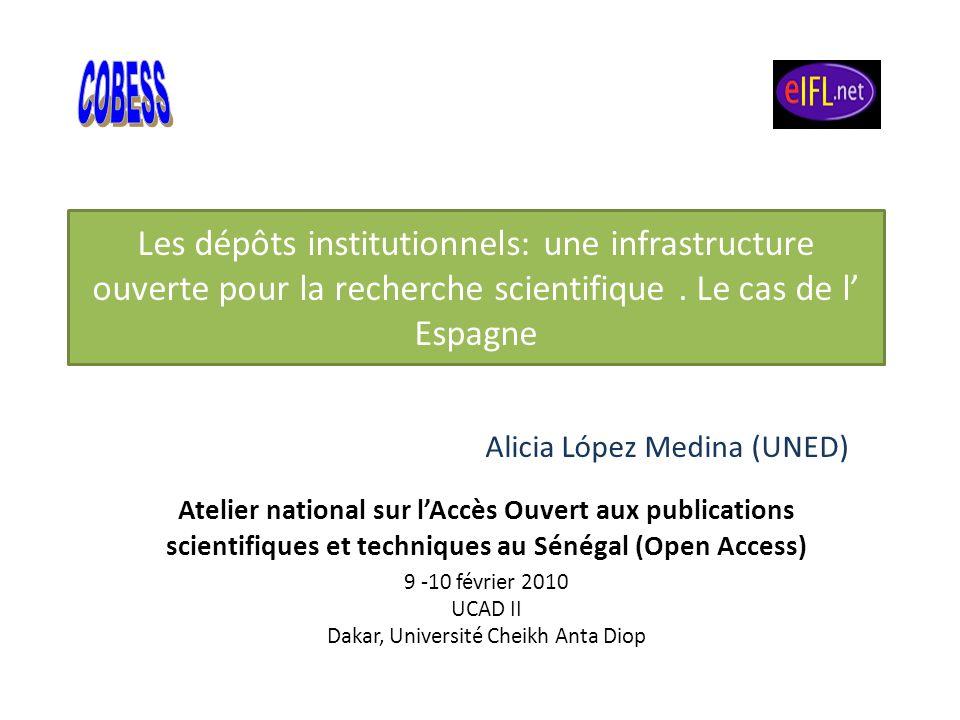 9 -10 février 2010 UCAD II Dakar, Université Cheikh Anta Diop