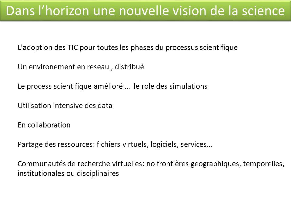 Dans l'horizon une nouvelle vision de la science