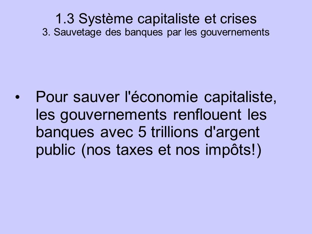 1. 3 Système capitaliste et crises 3