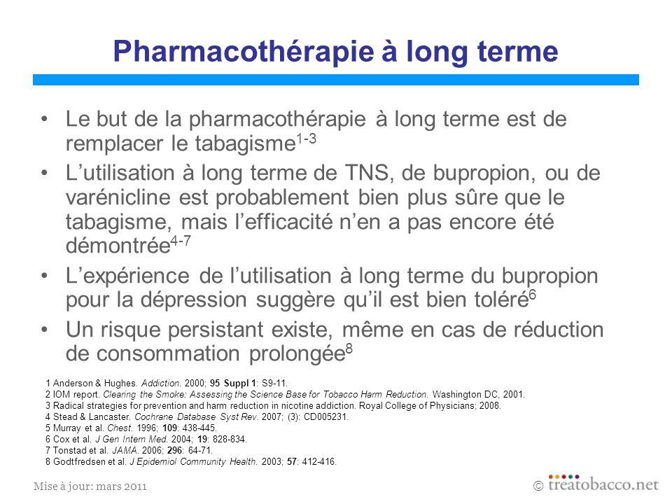 Pharmacothérapie à long terme