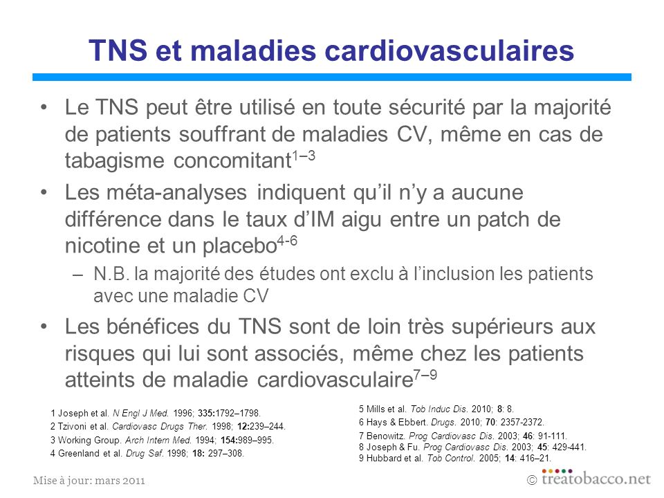 TNS et maladies cardiovasculaires