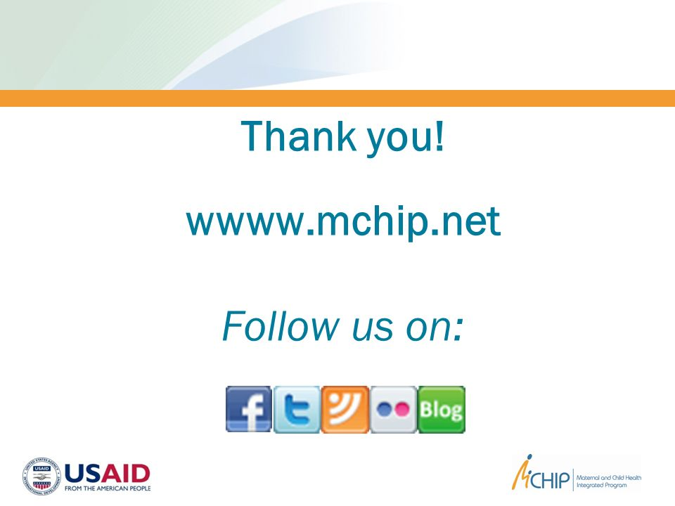 Thank you! wwww.mchip.net Follow us on: