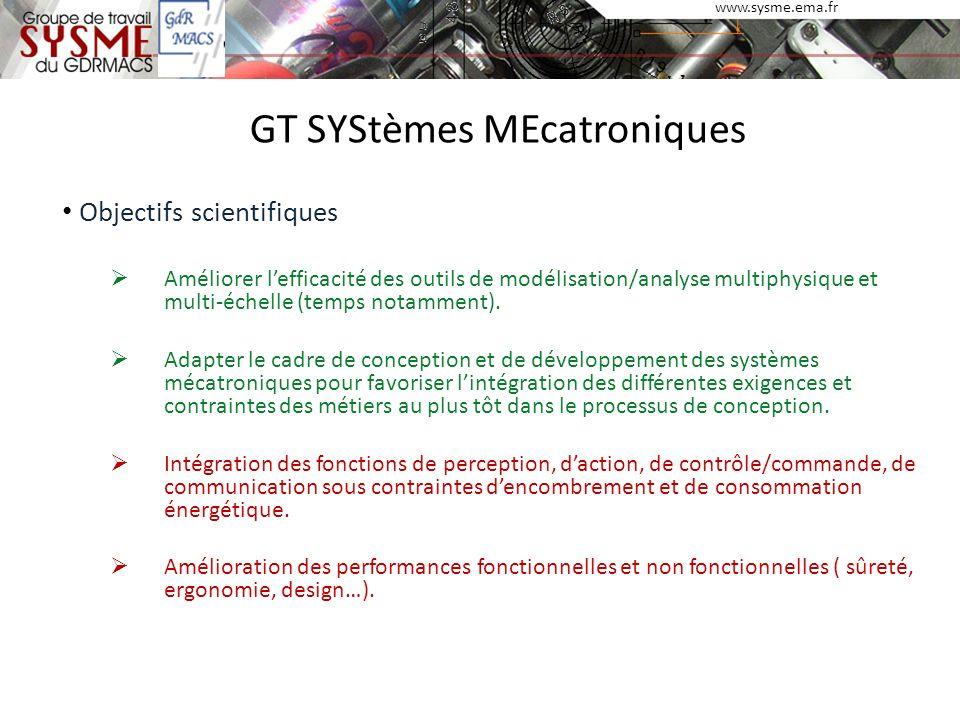 GT SYStèmes MEcatroniques