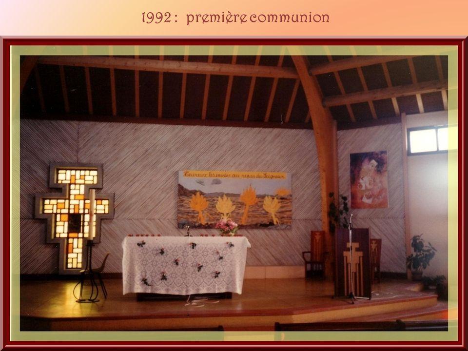 1992 : première communion