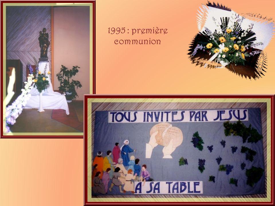 1995 : première communion