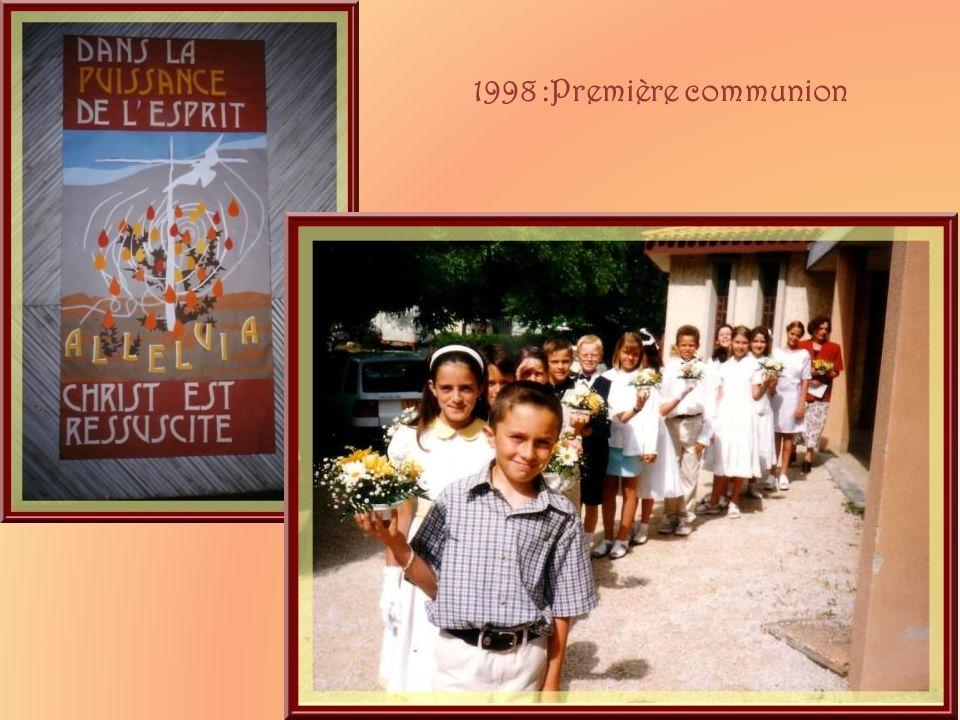 1998 :Première communion
