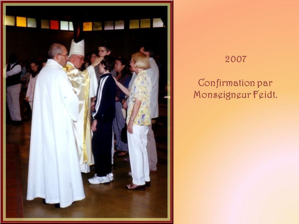 Confirmation par Monseigneur Feidt.