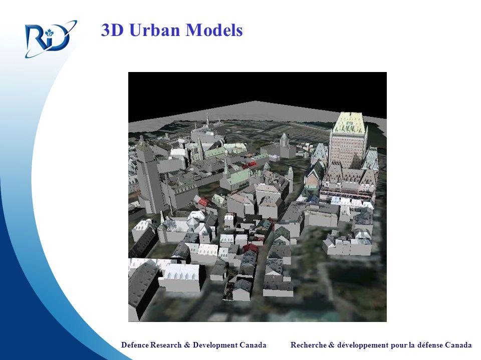 3D Urban Models
