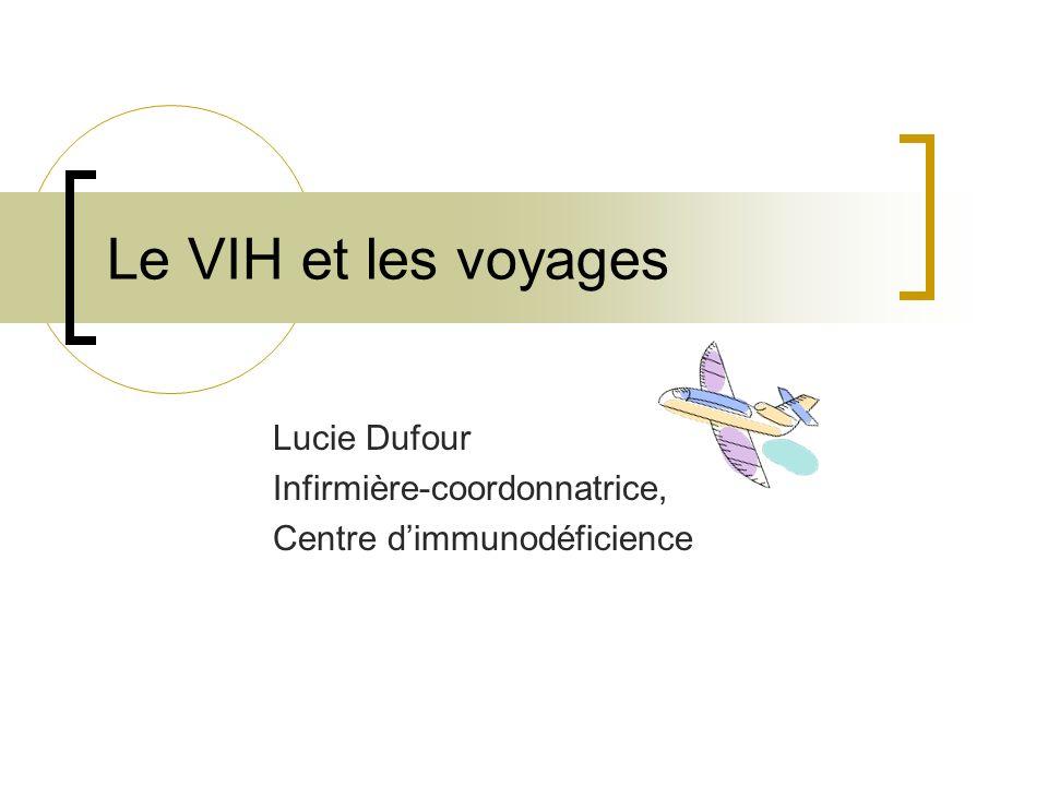 Lucie Dufour Infirmière-coordonnatrice, Centre d'immunodéficience