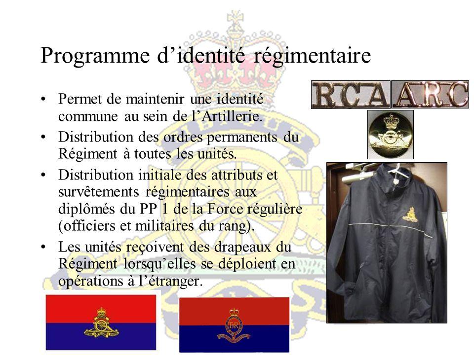 Programme d'identité régimentaire