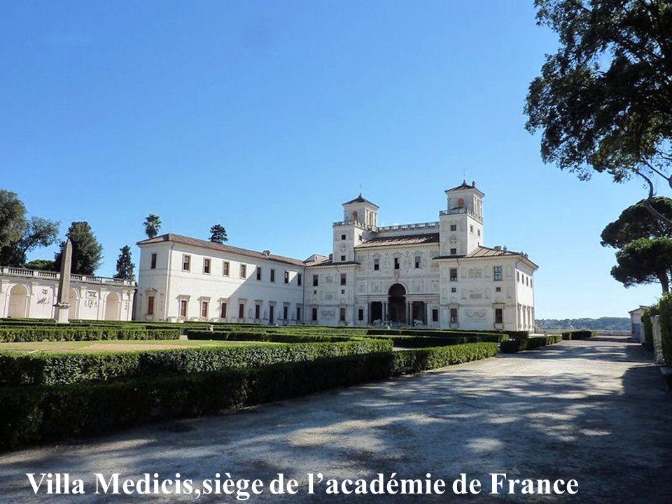 Villa Medicis,siège de l'académie de France
