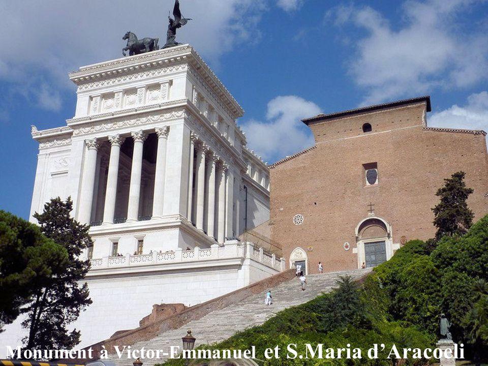 Monument à Victor-Emmanuel et S.Maria d'Aracoeli