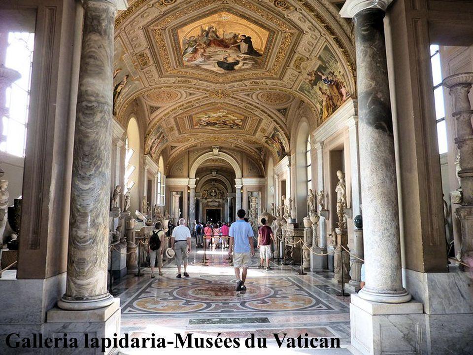 Galleria lapidaria-Musées du Vatican