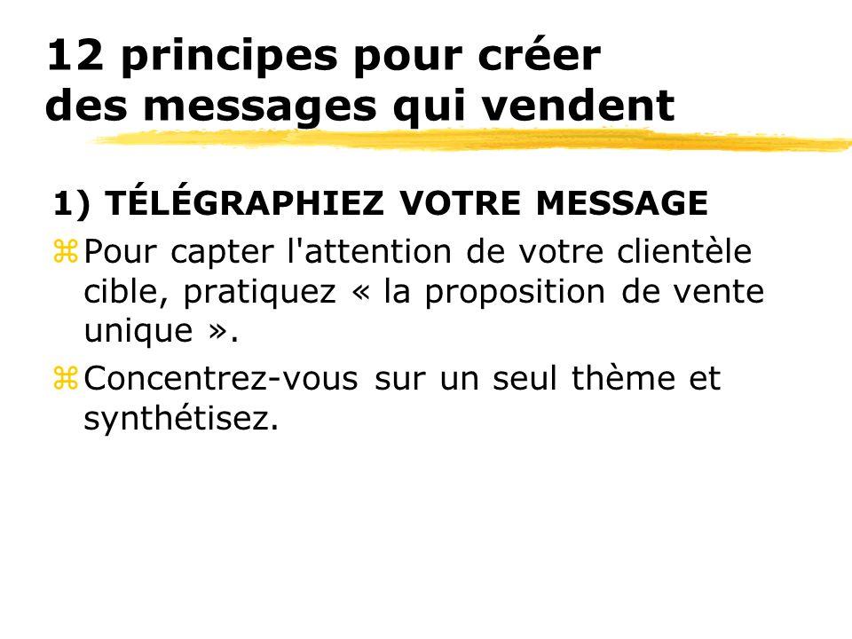 12 principes pour créer des messages qui vendent