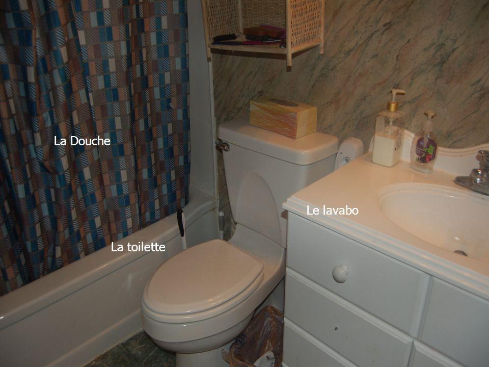 La Douche Le lavabo La toilette