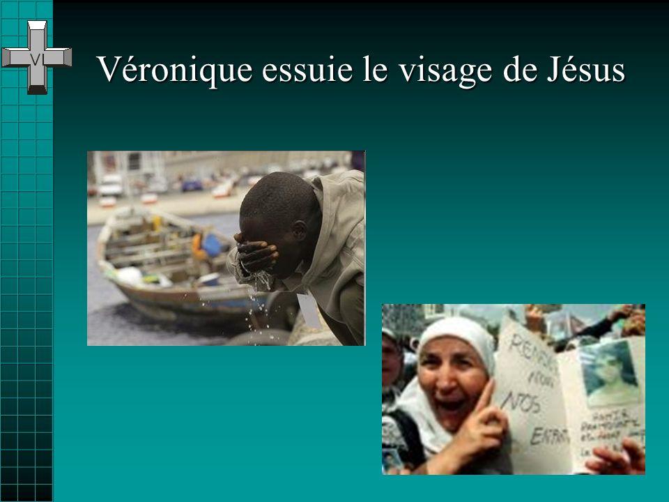 Véronique essuie le visage de Jésus