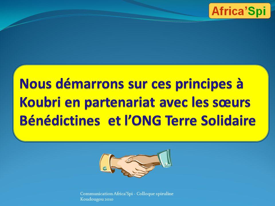 Nous démarrons sur ces principes à Koubri en partenariat avec les sœurs Bénédictines et l'ONG Terre Solidaire