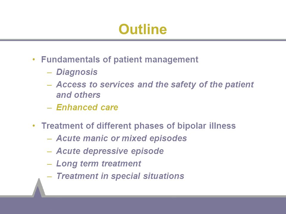 Outline Fundamentals of patient management Diagnosis