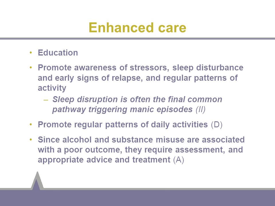 Enhanced care Education