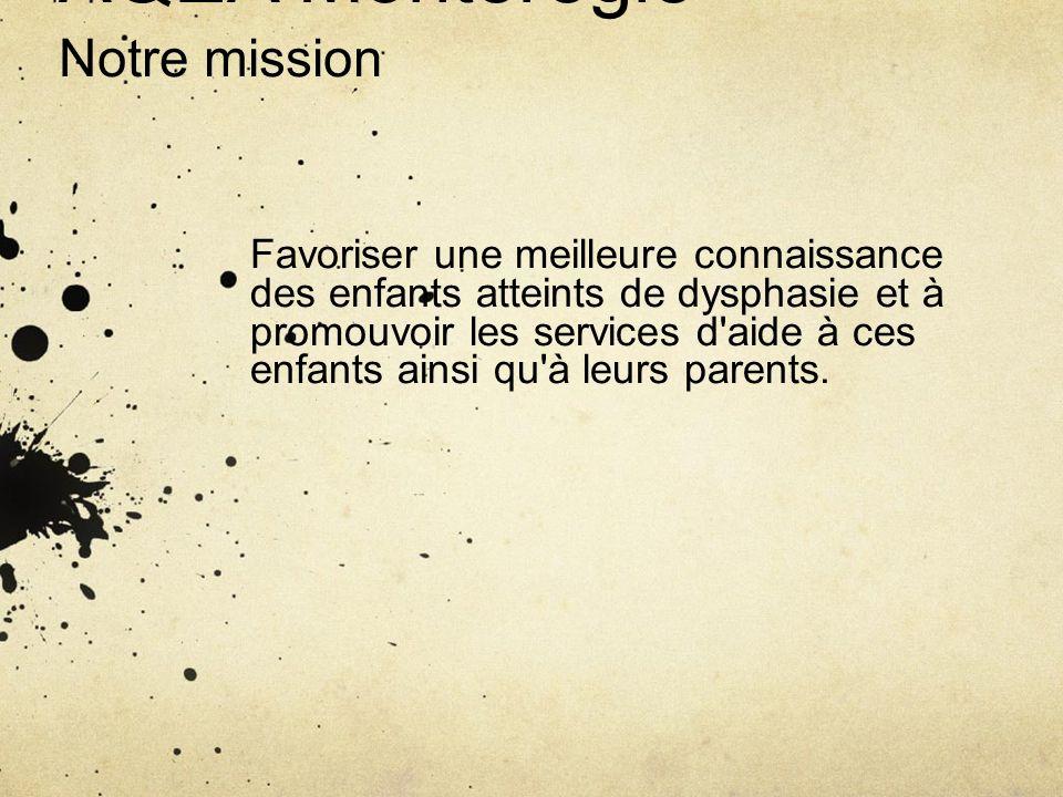 AQEA Montérégie Notre mission