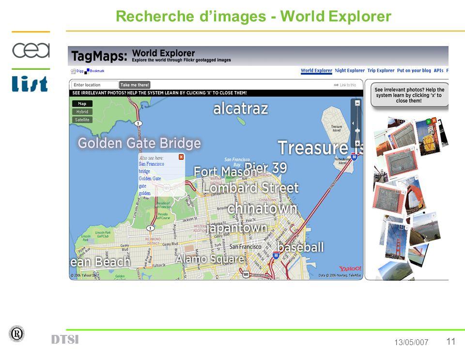 Recherche d'images - World Explorer